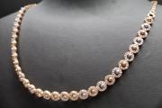 Ogrlica belo zuto zlato 57 000 din