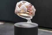 Prsten belo zuto zlato 30 600 din