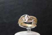 prsten zuto-belo zlato585 11800,00din.