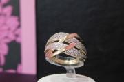 prsten zuto-belo zlato585 13600,00din.