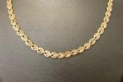 Ogrlica belo žuto zlato<br />OZBZ B13 33 700 din.