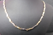 ogrlica zuto-belo zlato 585 24000,00din.