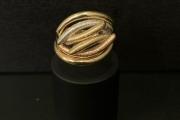 Prsten žuto-belo zlato <br />PZB42 - 36 800 din.