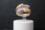 prsten zuto-belo-roze zlato585 21700,00din.